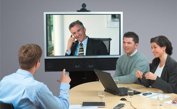 Видеоконференция ежедневно помогает бизнесменам
